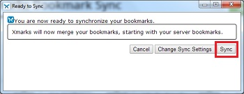 как синхронизировать закладки в xmarks