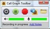 как записать разговор в скайпе в CallGraphSetup