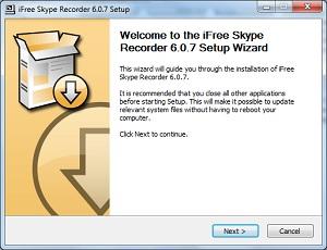 установка iFree Scype Recoder