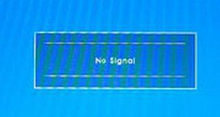 No signal на мониторе ПК-1