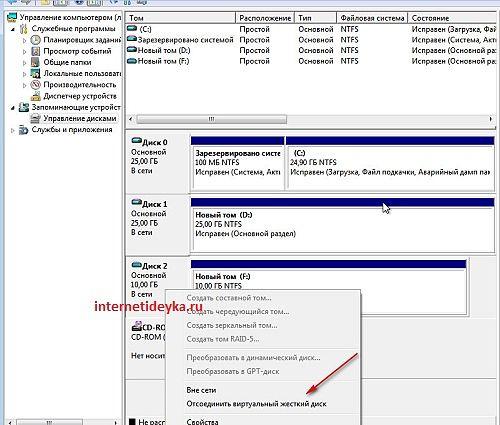 VHD в Проводнике, хотя физически он лишь файл-22